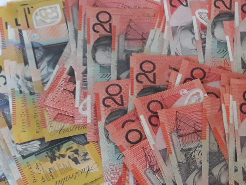 Australian-Dollar-Money