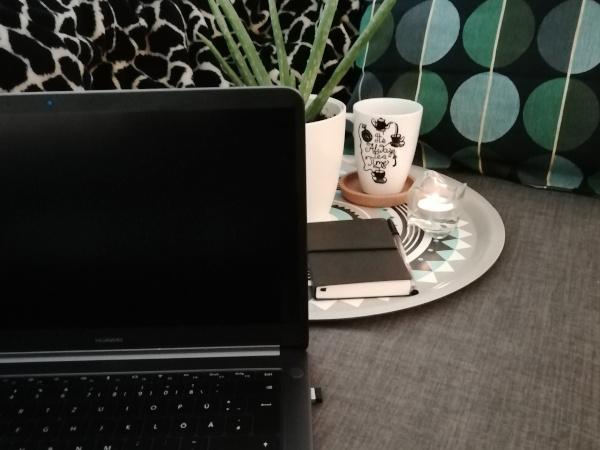 Laptop Sofa Bloggen