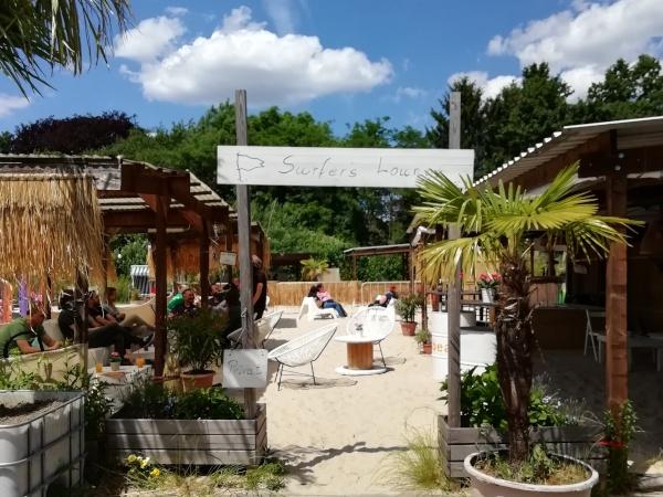 Travel Festival Surfers Lounge