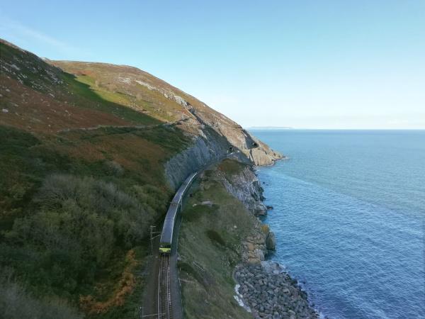 Cliff Walk Dublin Train