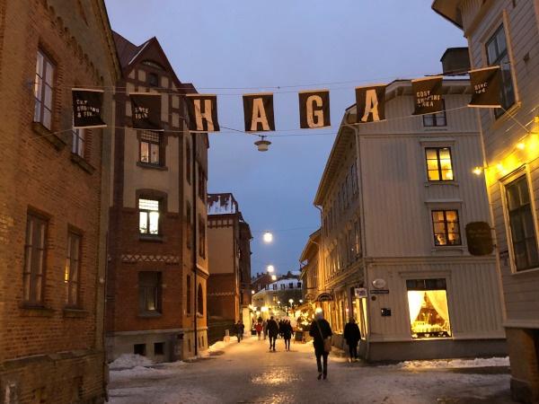 Göteborg Haga Stadtteil