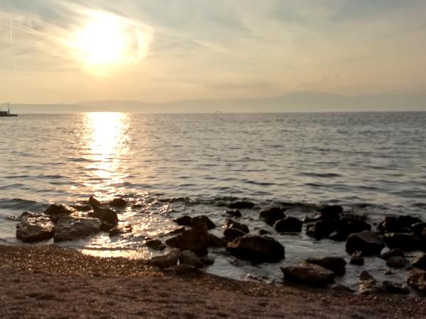 Kroatien Insel Krk Sonnenuntergang
