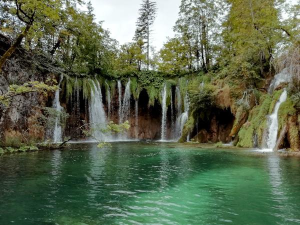 Kroatien Plitvitzer Seen Wasserfälle