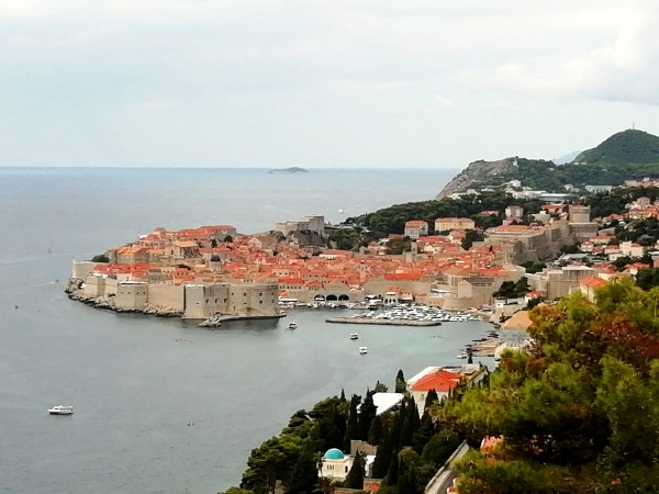 Roadtrip Kroatien Dubrovnik von oben