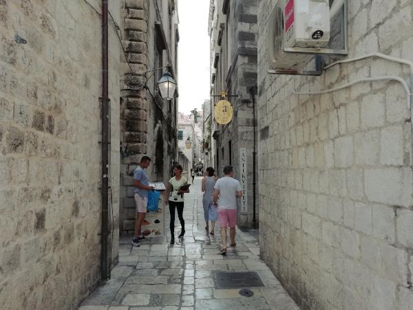 Roadtrip Kroatien Dubrovnik Gasse