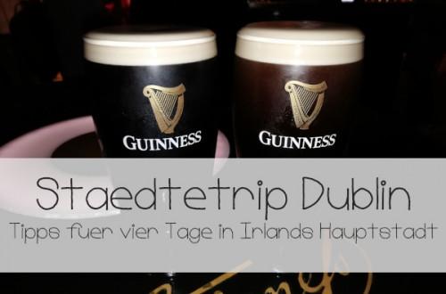 Tipps für Dublin Guinness