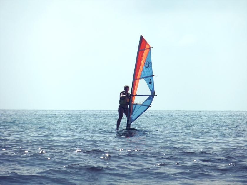 Bucketliste Windsurfen
