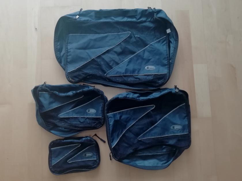 Packwürfel Packtaschen für Reisen