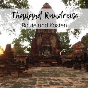 Titelbild Blogpost Thailand Rundreise