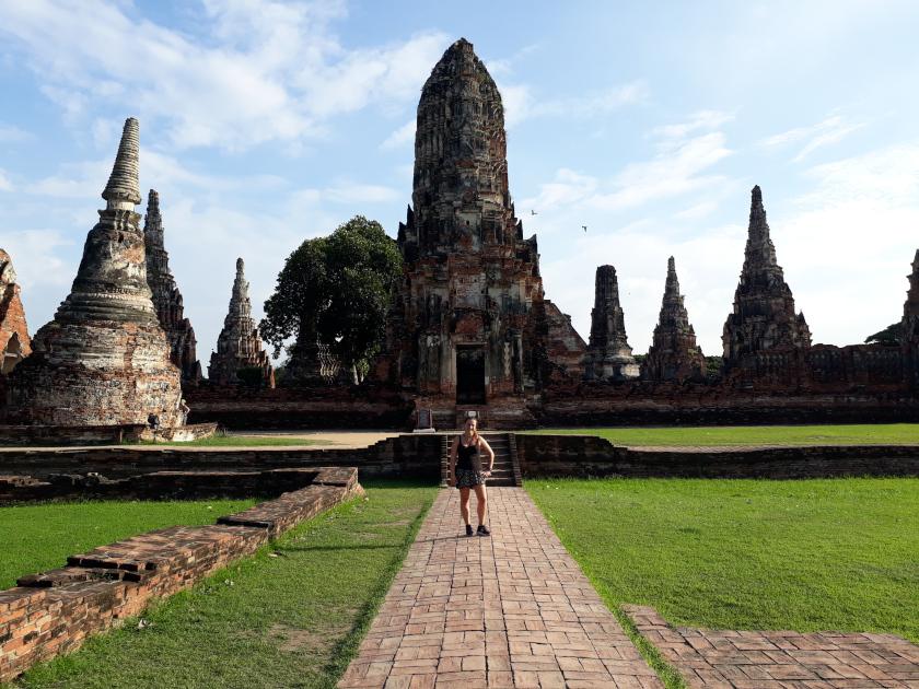 Ayutthaya Tempelanlage Thailand Rundreise