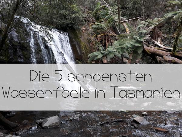 Wasserfaelle-Tasmanien