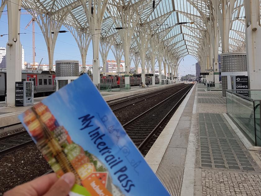 Reisen Europa Interrail