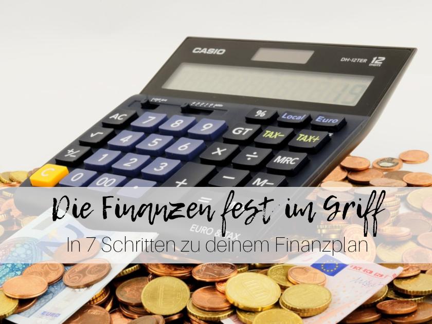 7 Schritte Finanzplan