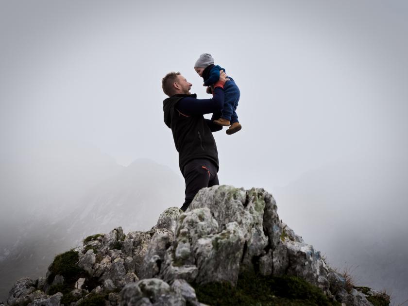 Die Nordlicht Familie Abenteuer Zugspitze