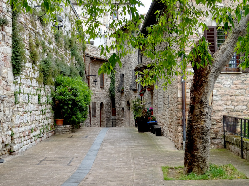 Franziskusweg-Pilgern-Assisi