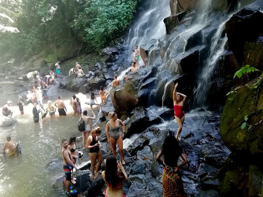 Bali-Wasserfall-Tourismus