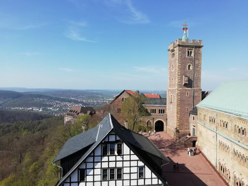 Eisenach-Wartburg-Ausblick