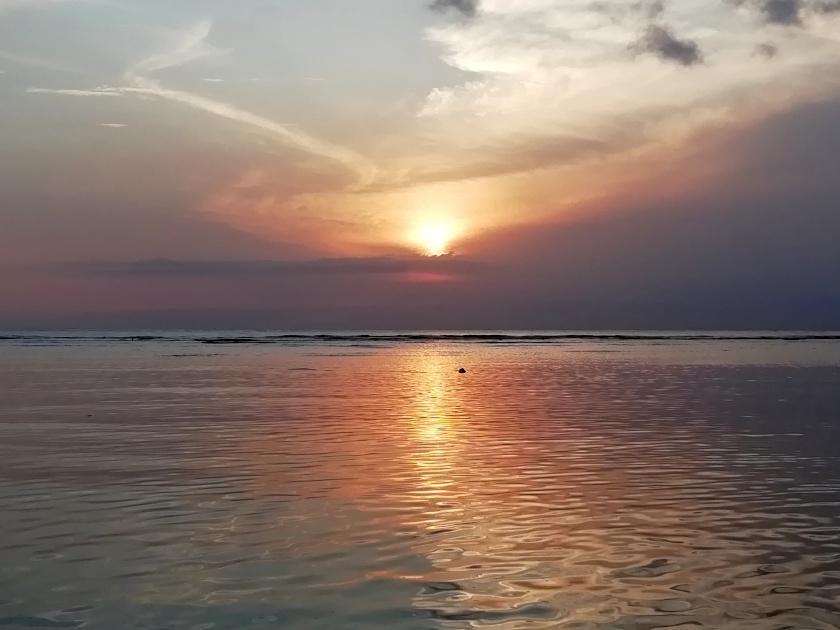 Gili-T-Sonnenuntergang