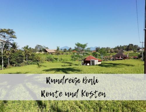 Bali Rundreise – Route und Kosten